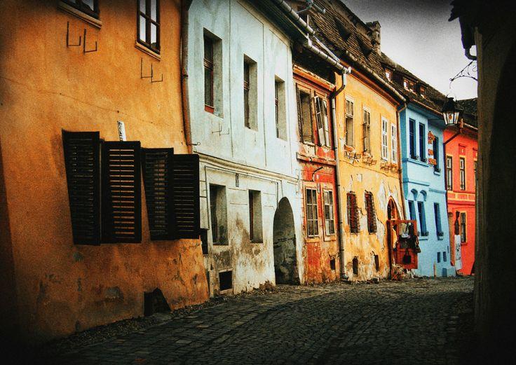 UNESCO. Historic Centre of Sighişoara - sighisoara colours... by nicu hoandra on 500px Romania, www.romaniasfriends.com