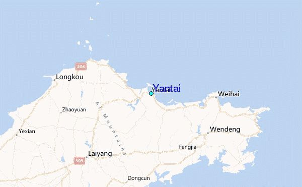 nice Yantai  Map