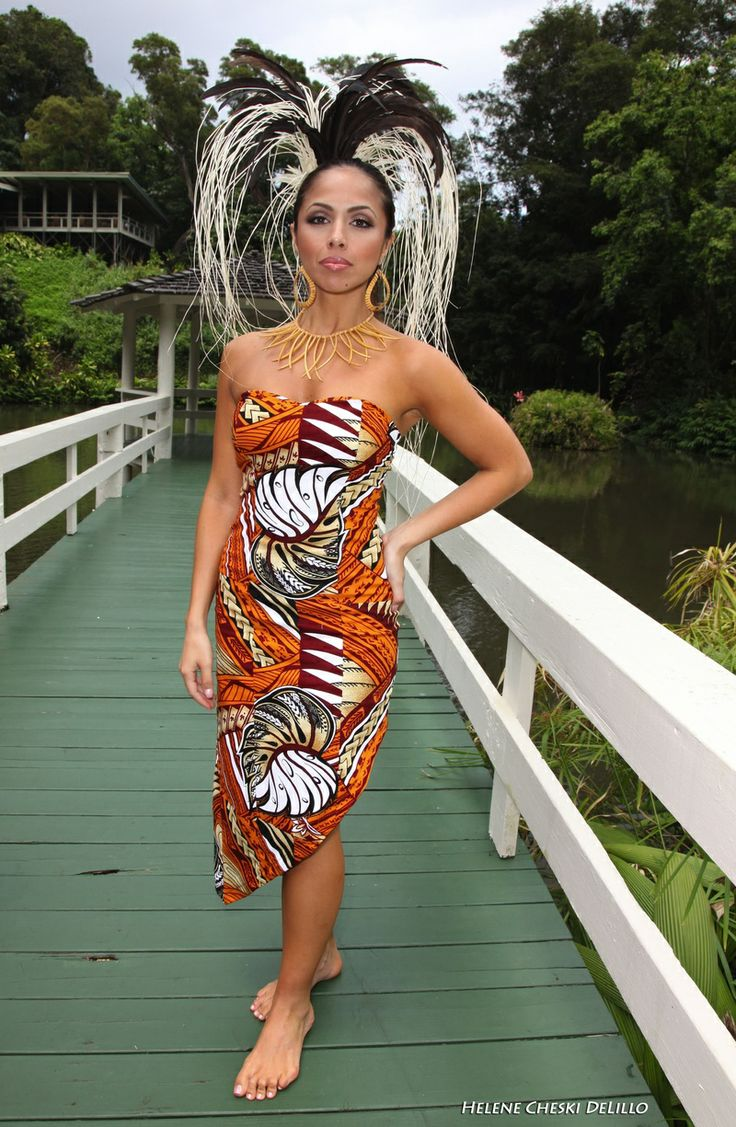 This Is What I Call CUTE polynesian Design! <3