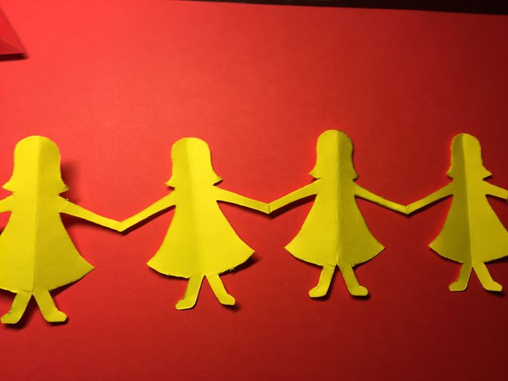 [Dolls Chain Princess] How to Make a Paper Dolls Chain Dolls  Paper Art ...