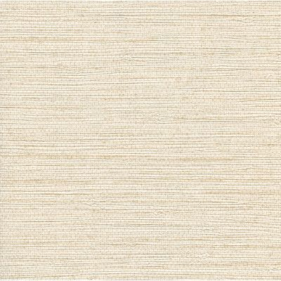 "Brewster Home Fashions 27' x 27"" Seagrass Wallpaper Color: White"