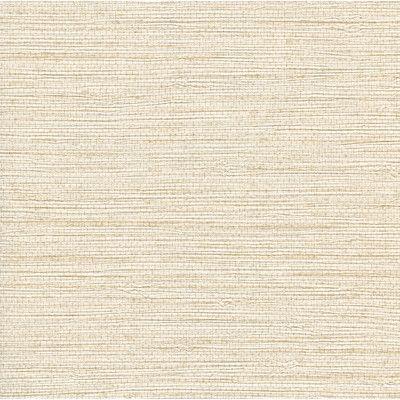 "Brewster Home Fashions 27' x 27"" Seagrass Wallpaper Color: White"