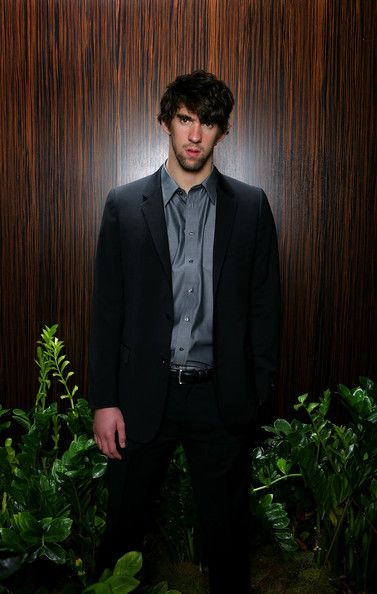Michael Phelps Photos Photos - Olympic gold medalist Michael Phelps poses for a portrait prior to the Fourth Annual Golden Goggles Awards at the Beverly Hilton Hotel on November 18, 2007 in Los Angeles, California. - USA Swimming Foundation Golden Goggle Day 2