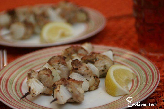 Куриный кебаб в турецком стиле