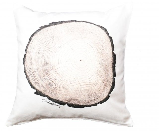 The pillow case PineWood by Julia Floberg. Digitally printed and sewed in Sweden #nordicdesigncollective #juliafloberg #wood #tree #log #logs #trees #pine #pinetree #pinewood #pillow #cushion #pillowcase #interiordesign #homedecor #madeinsweden #print #printedfabric #textile #textileprint #forest #lumberjack #lumber #cotton