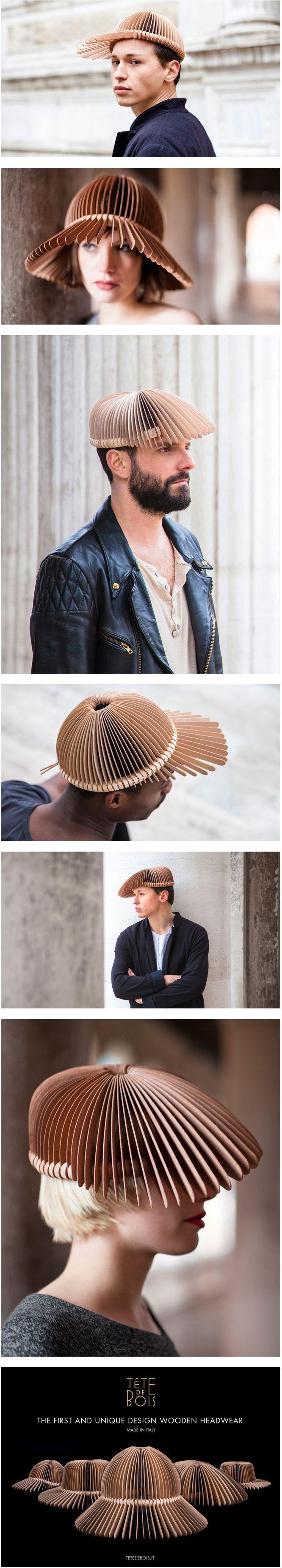 """Voici """"Tête de bois"""" une collection d'Andrea Deppieri."""