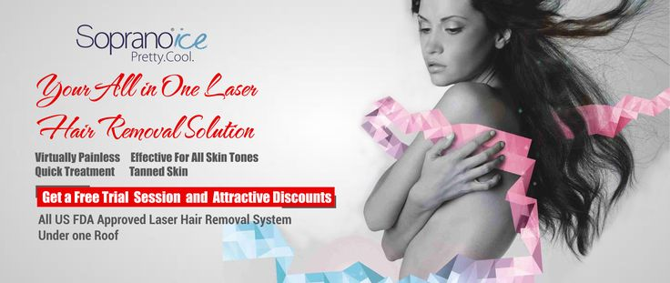 "Get rid of unwanted hairs the ""Pain free"" way. DermaClinix (Laser Hair Removal Clinic) is proud to introduce state of art LASER HAIR REMOVAL system SOPRANO ICE ensuring virtually painless laser hair removal for all skin type and colours with effect even on fine hairs using a combination of Diode and alexandrite LASER with Super Hair Removal (SHR) TECHNOLOGY.  Get a free trial session to have a feel of this state of art machine."