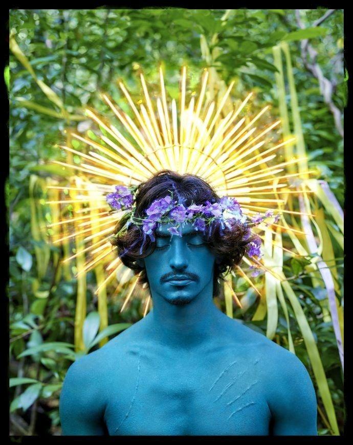 David LaChapelle - Mythical Swans: Madonna, New York