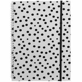 Spiral Bound Notebook - A4, Set of 3