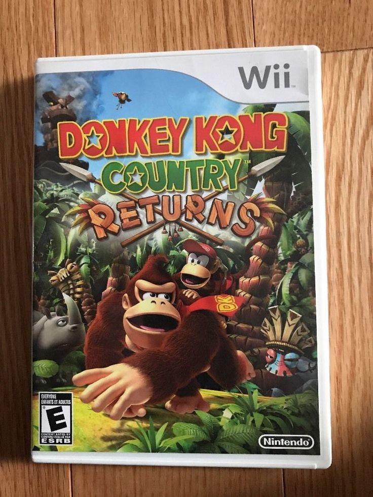 Donkey Kong Returns (Nintendo Wii, 2010) - CIB!!! 4902370518597   eBay