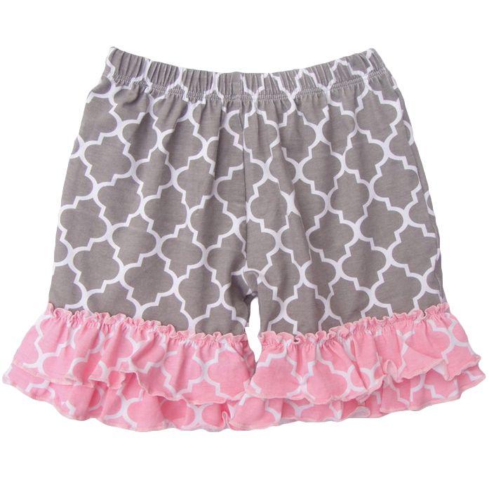 2015 мода трусики для девочек-младенцев детские джинсовые шорты ребенка летом стиль хлопковые шорты раффлед 1-8year