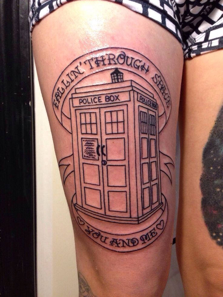 Doctor who tardis tattoo tattoo obsession for Dr woo tattoo price
