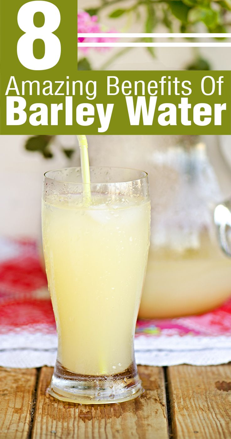 8 Amazing Benefits Of Barley Water To Cure Kidney Stones