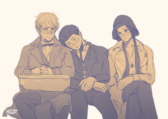 Okay, I really hope this happens at some point. Can Newt and Tina please help Credence somehow?