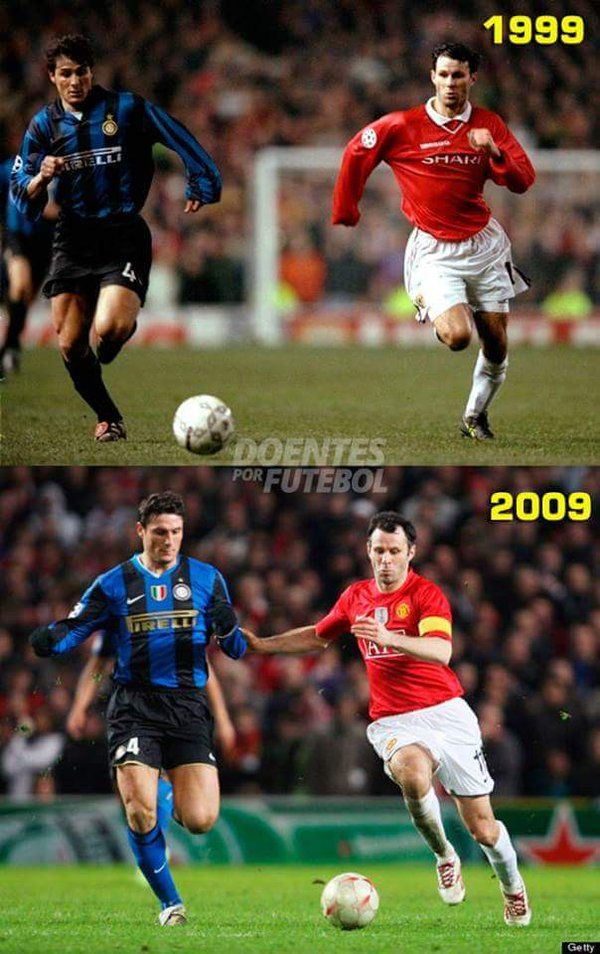 Javier Zanetti e Ryan Giggs - Legends