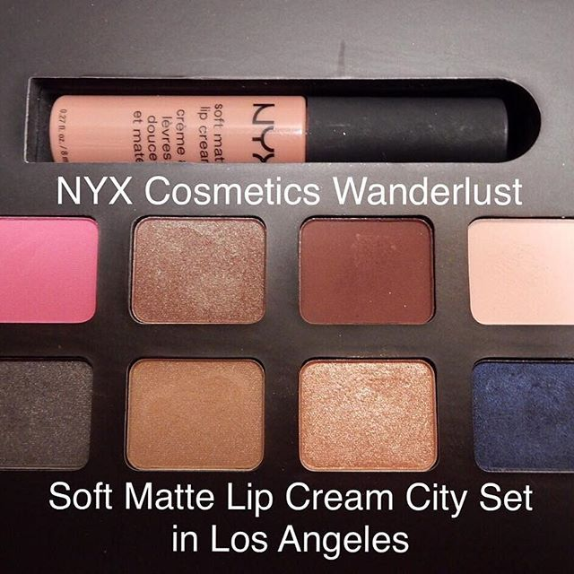 ⚡️Alert! New Blog Post! ⚡️ Up on our blog now: the third in a review series about the NYX Cosmetics Wanderlust Soft Matte Lip Cream City Sets. They are limited edition and for sale for $8 on the @nyxcosmetics website. In my post I go into detail about each eyeshadow in the palette and give my opinions on the set as a whole. There are also photos of a couple of the looks that I created using this set. For one of the looks I go into a mini tutorial explaining how I created the eye makeup. The…