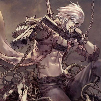 A personal favorite image ~ Dante (Devil May Cry franchise) fan-art.