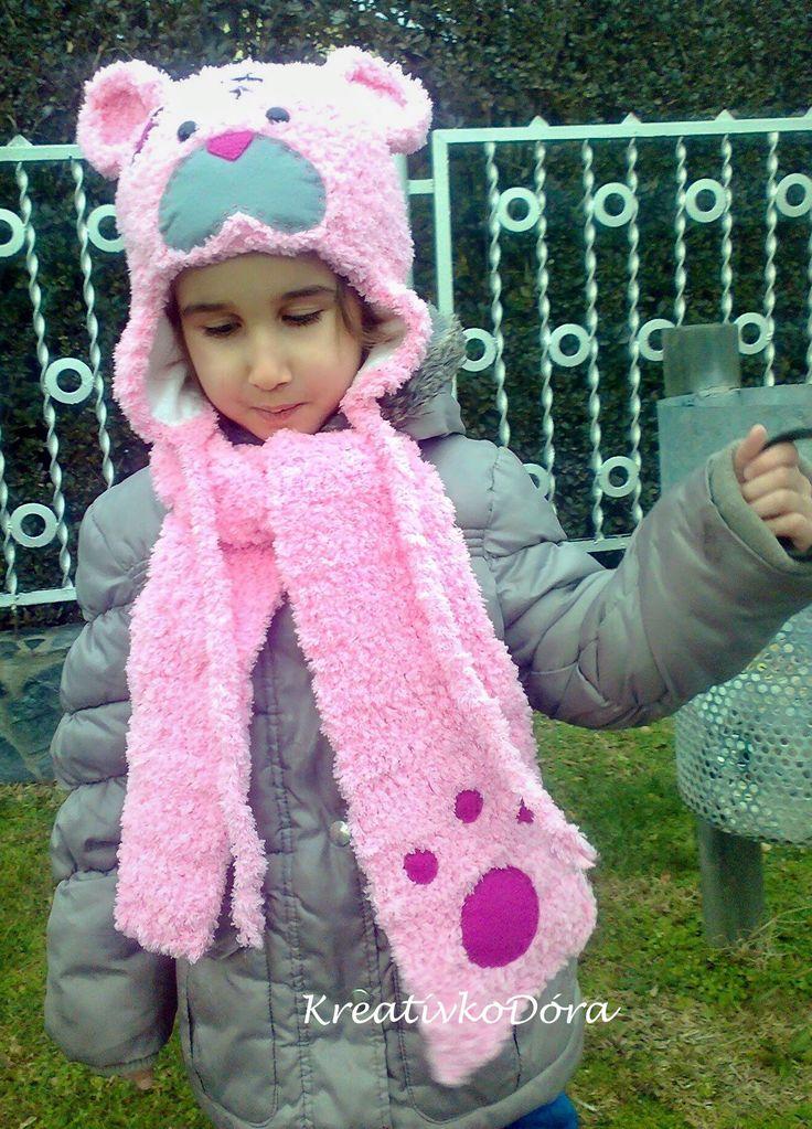 Me to you bear crochet hat http://kreativkodora.blogspot.hu/2014/12/szetolelgetnem-cuki-pofijat.html