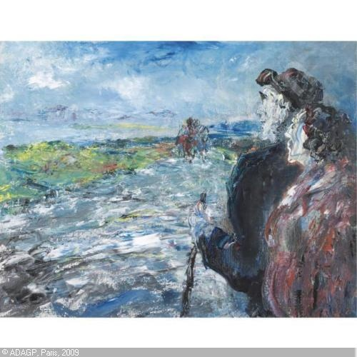 WAITING FOR THE LONG CAR by Jack Butler YEATS,