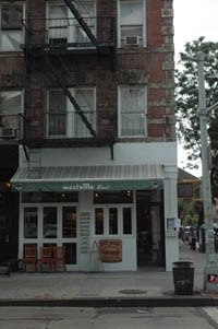 Westville restaurants are inexpensive & have great burgers, hot dogs and amazing market vegetables.