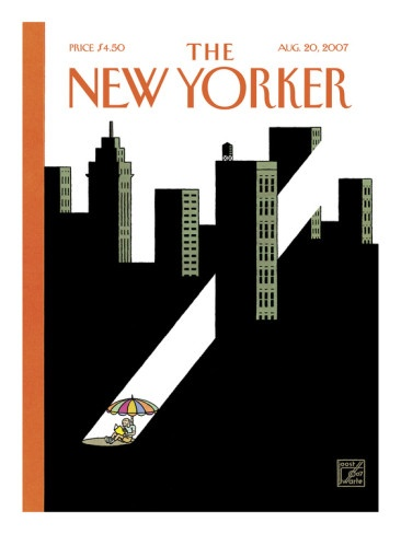 August 20, 2007: The New Yorker, August 2007, Illustrations, Summer Reading, Yorker 2007, Yorker Magazines, Joost Swart, Magazines Covers, New Yorker Covers