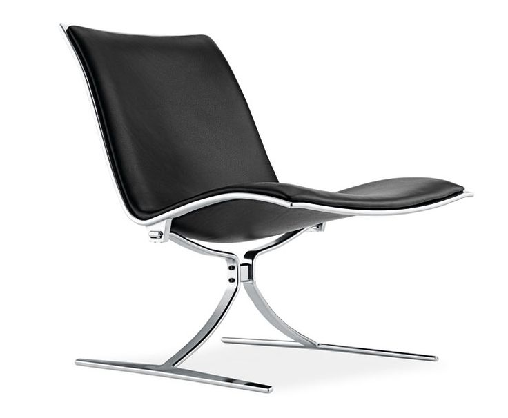 FK 710 Skater Chair, 1968, designed by Jørgen Kastholm, Preben Fabricius