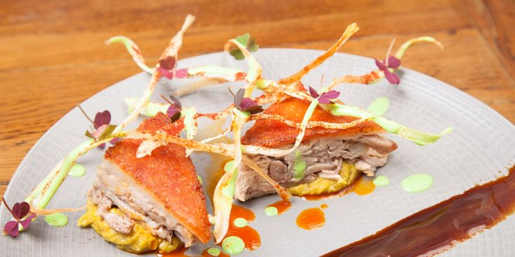 This confit suckling pig recipe is a dish for a special occasion, served…