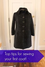 Top tips for sewing your first Coat! Cashmerette