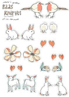 Free Printable Easter Stickers