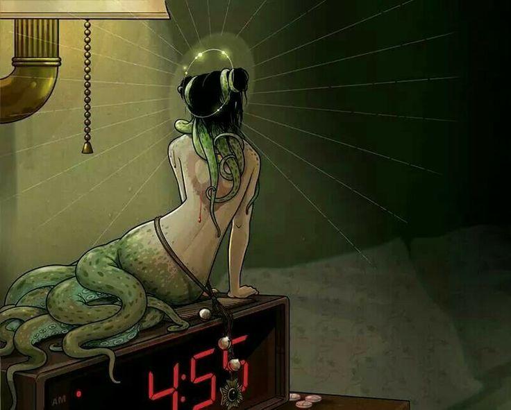 Wakey wakey octopus lady
