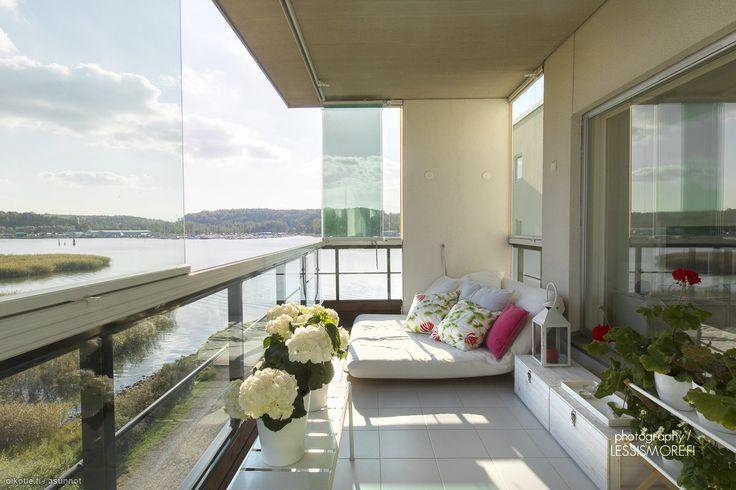 Myytävät asunnot, Reelinkikatu 10, Turku #oikotieasunnot #parveke #balcony #Turku