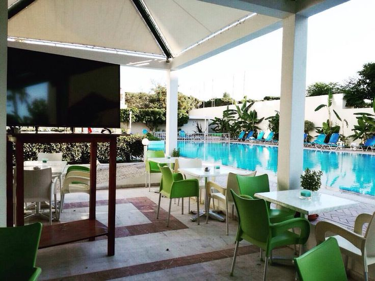 Sometimes, all you need is a day by the pool! Tip of the day: Watch all #euro2016 football games on our 55'' TV screen | #koshotel #kosisland
