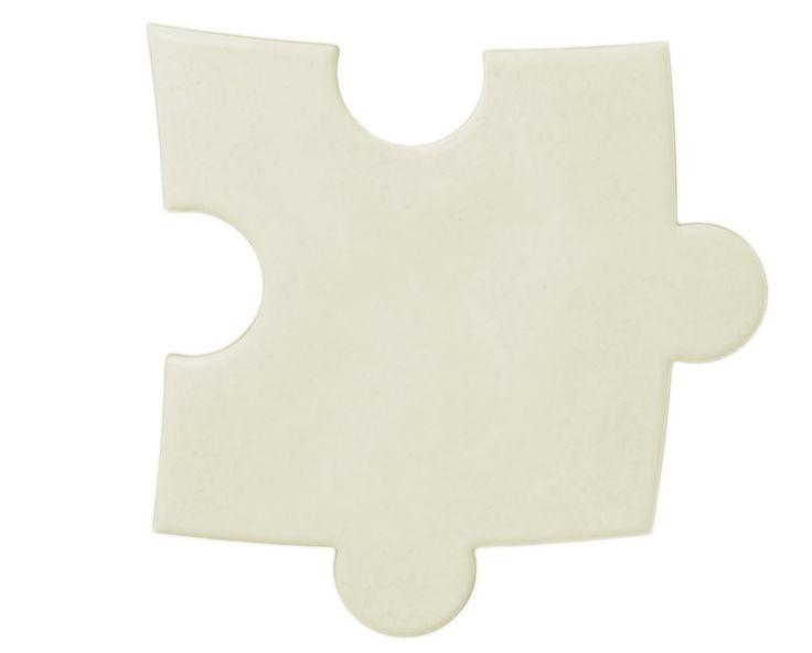 Płytka 3D Puzzle - Biała - zdjęcie od Bettoni - Beton Architektoniczny - Taras - Styl Nowoczesny - Bettoni - Beton Architektoniczny