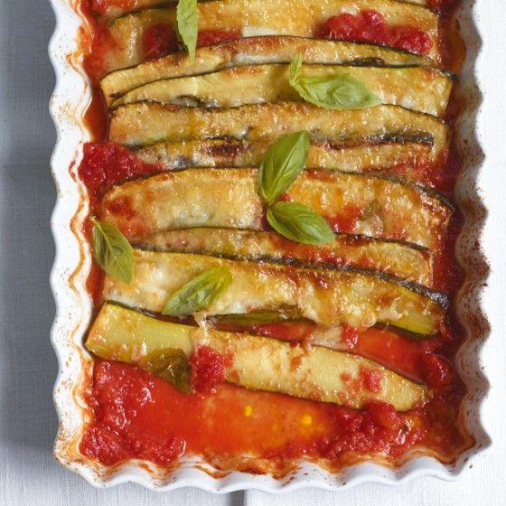 ESSEN & TRINKEN - Überbackene Zucchini Rezept