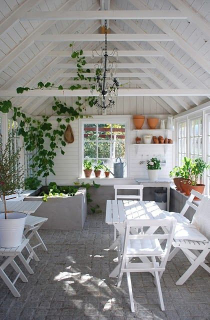 white wood porch room ( don't know if this is here already but its nice)