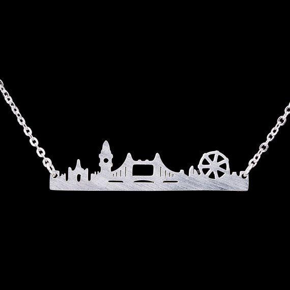 London Skyline necklace Vintage London Skyline necklace