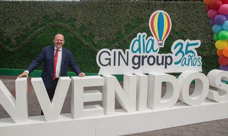 Este 25 de abril, Raúl Beyruti Sánchez, Presidente de GINgroup, celebró su 35vo. Aniversario en compañía de todo su equipo de colaboradores. La cita fue desde temprano en La Feria de Chapultepec, en donde se dieron cita poco más de 4,000 colaboradores de los..