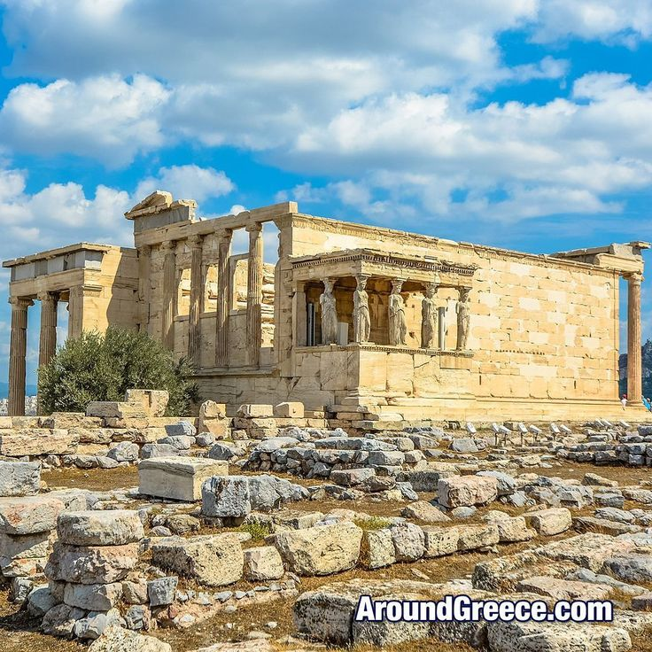 The Erechtheion is an ancient temple located on the north side of the Acropolis of Athens  #Athens #Acropolis #Erechtheion #Parthenon #history #culture #greek #holidays #tourism #travel #vacations #ancientgreece #greek #Αθηνα #Ελλαδα #Ακροπολις