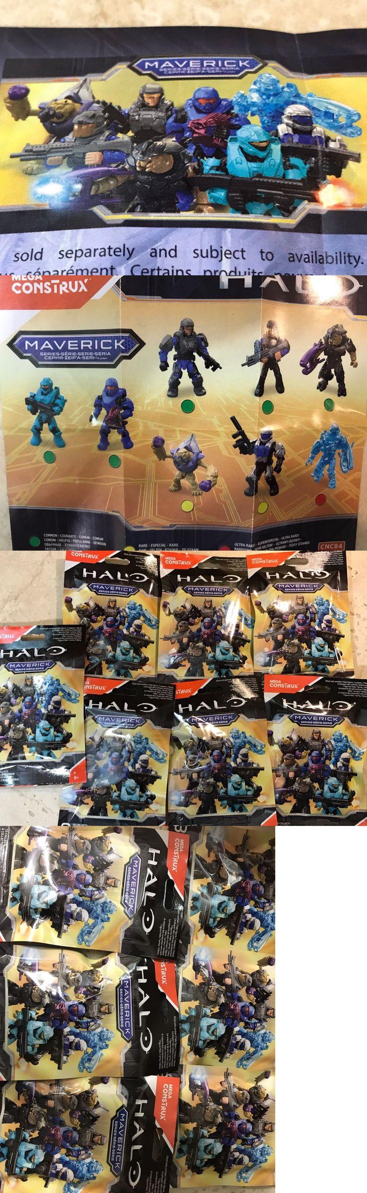 Mega Bloks 52338: All 8 Halo Mega Construx Maverick Series, Figures Sealed No Duplicates?? -> BUY IT NOW ONLY: $39.94 on eBay!