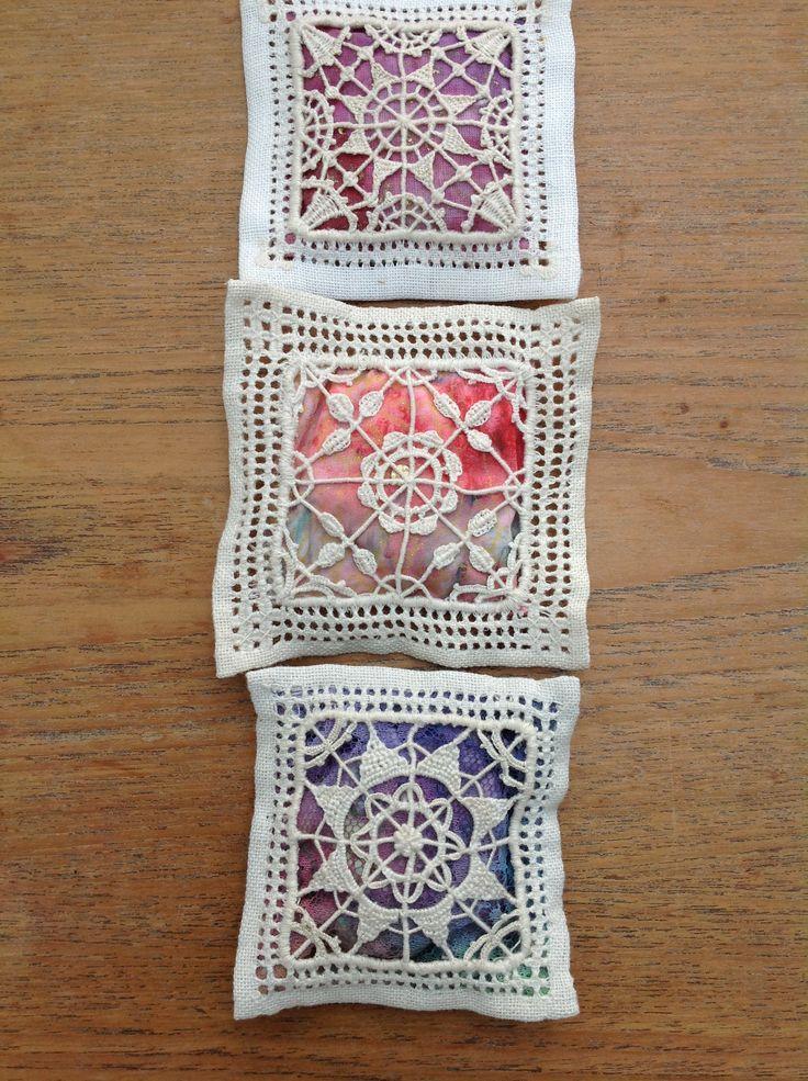Ruskin Lace sachets