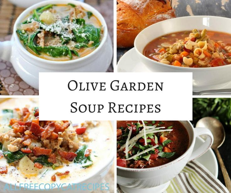Olive Garden Recipes: 109 Best Copycat Soup Recipes Images On Pinterest