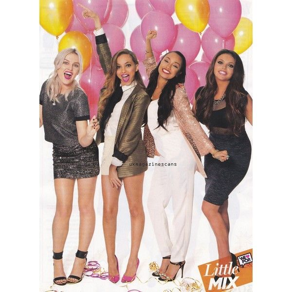 Little mix news - We love pop magazine (credit) ❤ liked on Polyvore featuring little mix and perrie