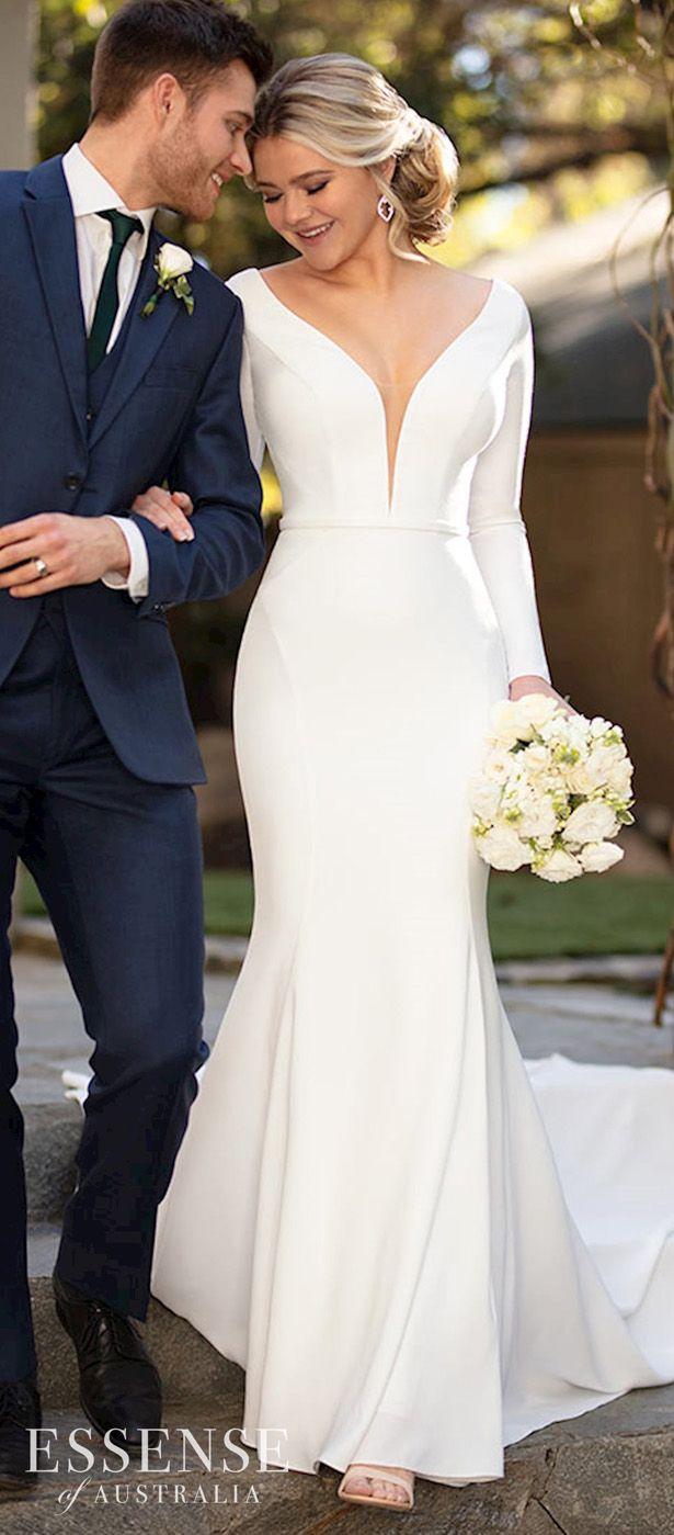 Glamorous Wedding Dresses with Sleeves