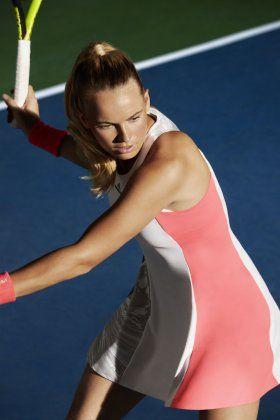 Caroline Wozniacki's #Adidas dress for the 2016 US Open
