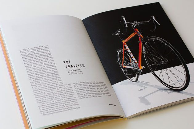 Past Present Future, for Condor Cycles: Magazines Layouts Books, Magazines Layout Books