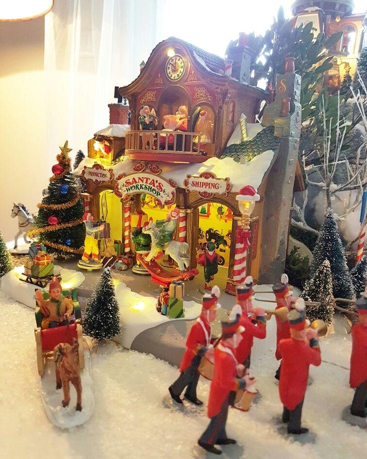 lemax christmas village display 2016 by amandinedidine13 lemax christmas noel christmasvillage villagedenoel truffaut truffautaubagne pinterest