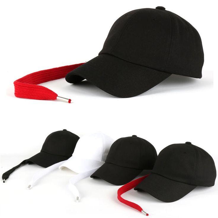 New Big Bang G-Dragon GD Long Strap Back Trucker Baseball Strapback Hats Caps #hellobincom #TruckerBaseballCapHats
