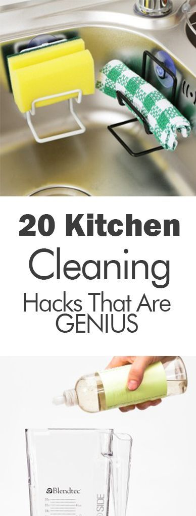 20 Kitchen Cleaning Hacks that are GENIUS - 101 Days of Organization