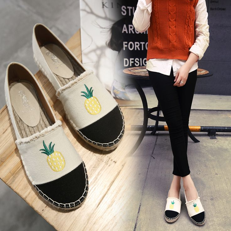 Awesome Style Pineapple With Vintage Eye Glasses Women¡s Casual Sneakers Shoes Boat Cool Spring Comfortable