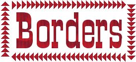 Exciting borders for quilts